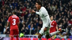 Raphael Varane Real Madrid Sevilla Copa del Rey