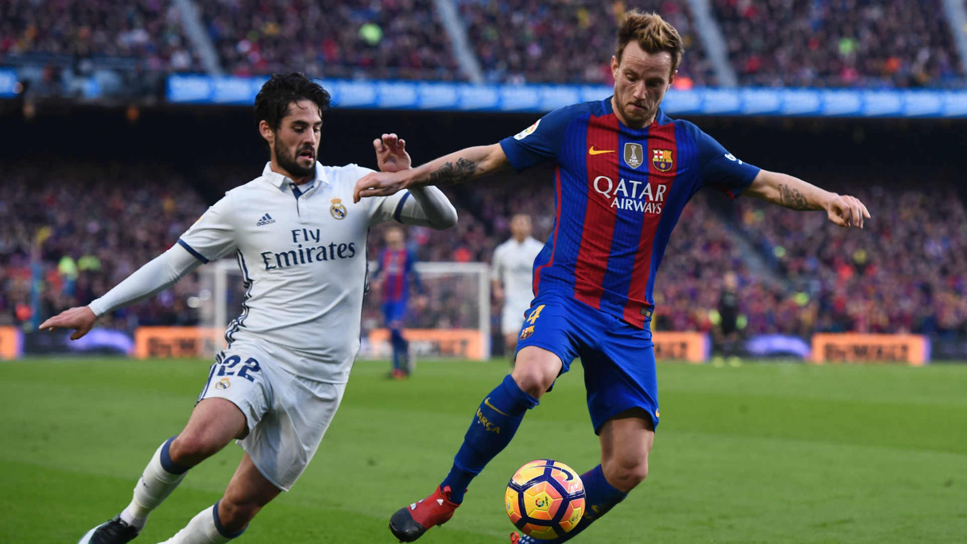 Ivan Rakitic Isco Barcelona Real Madrid La Liga