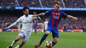 Ivan Rakitic Isco Barcelona Real Madrid La Liga