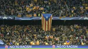Esteladas Barcelona BATE Borisov UEFA Champions League 11042015