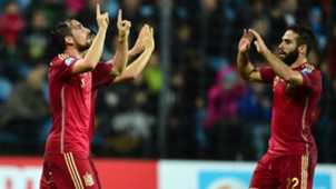 Luxembourg Spain Euro 2016 Paco Alcacer Dani Carvajal 121014