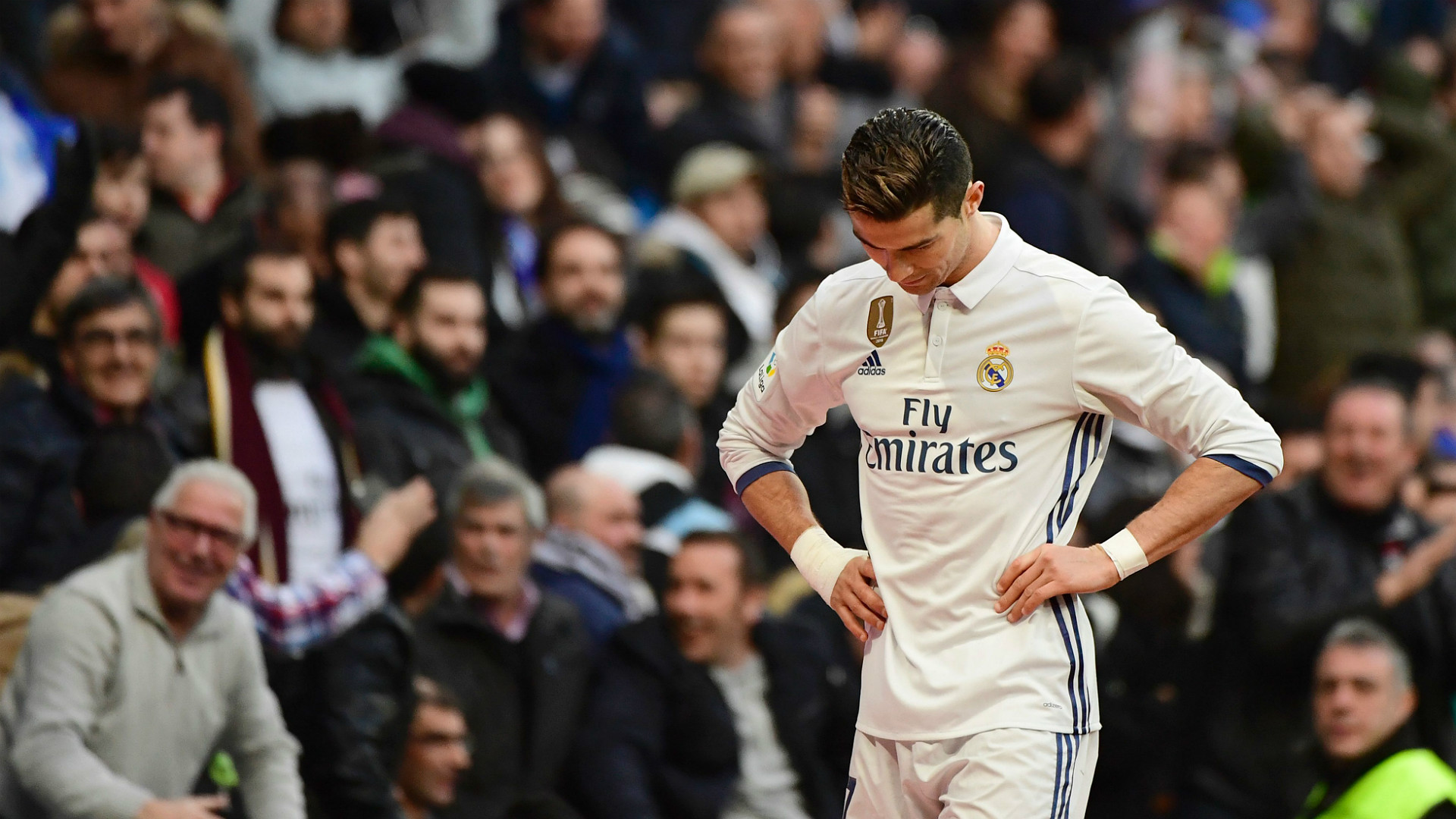 Cristiano Ronaldo Real Madrid Malaga LaLiga 21012017