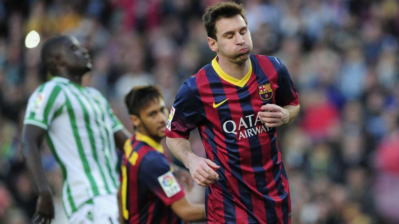 Lionel Messi Betis Barcelona 050414