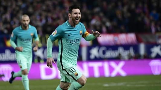 Lionel Messi Javier Mascherano Atletico Madrid Barcelona Copa del Rey