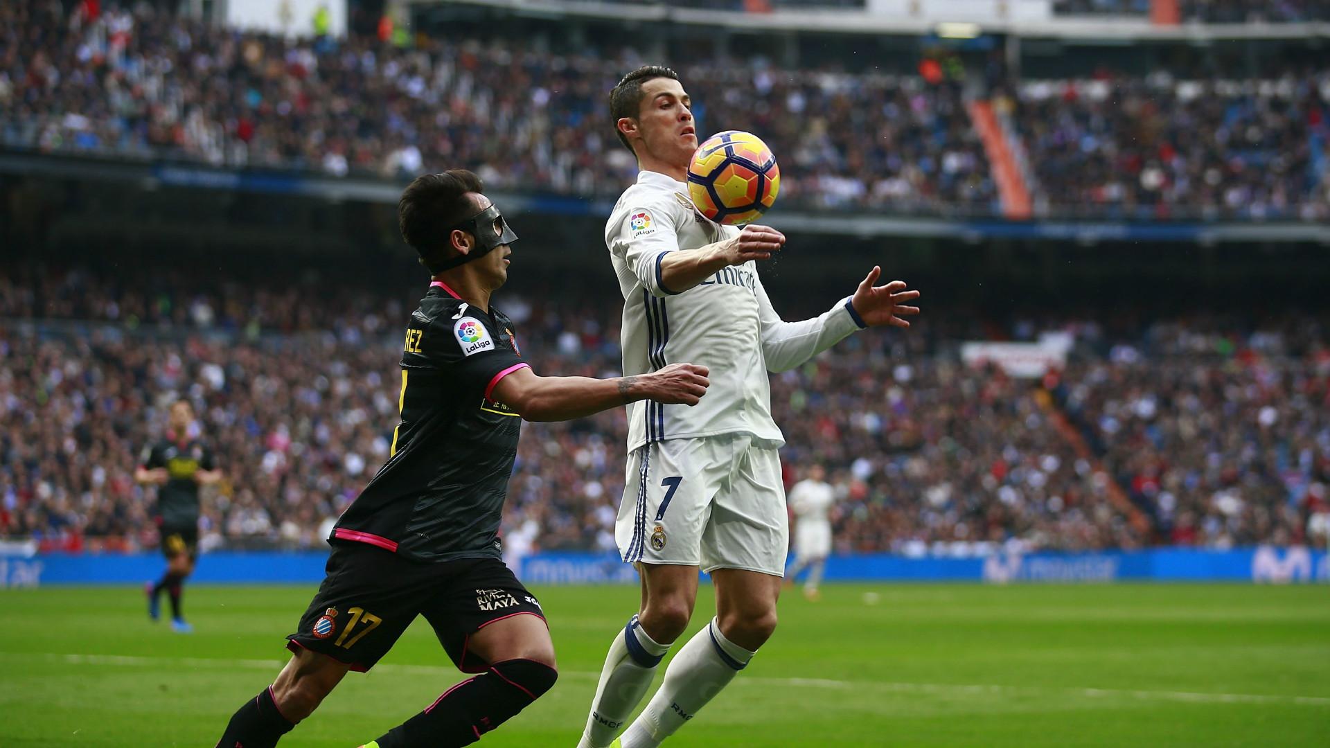 Cristiano Ronaldo Hernan Perez Real Madrid Espanyol LaLiga