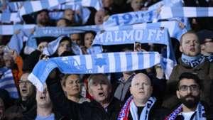 Fans Malmo Atletico Madrid UEFA Champions League 11042014