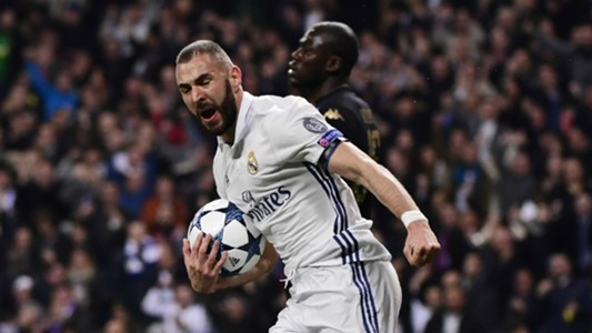 Karim Benzema Real Madrid Napoli Champions League