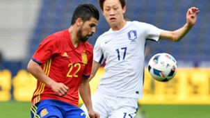 Nolito Spain Korea Friendly 01062016