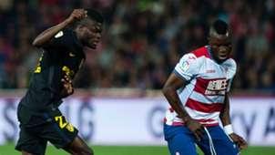 Wakaso Thomas Partey Granada Atletico Madrid La Liga