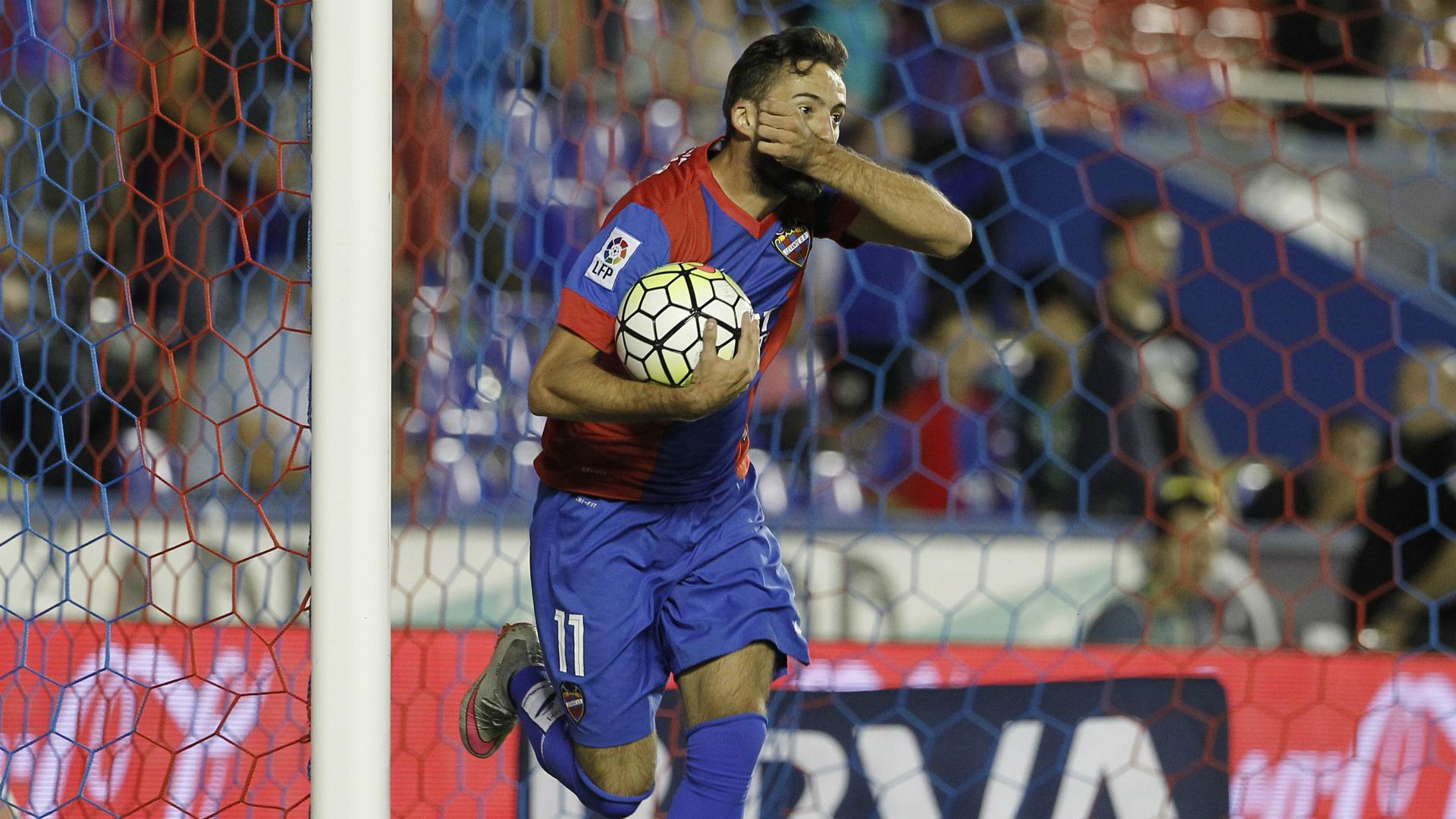 Jose Luis Morales Levante Eibar La Liga 09232015