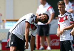 Sami Khedira Mesut Ozil Germany World Cup