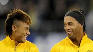 Neymar Ronaldinho Brasil