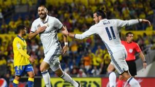 Karim Benzema Gareth Bale Las Palmas Real Madrid LaLiga
