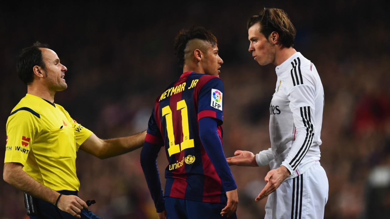 Barcelona Real Madrid La Liga Neymar Gareth Bale 22032015