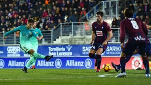 Denis Suarez Eibar Barcelona LaLiga 22012017