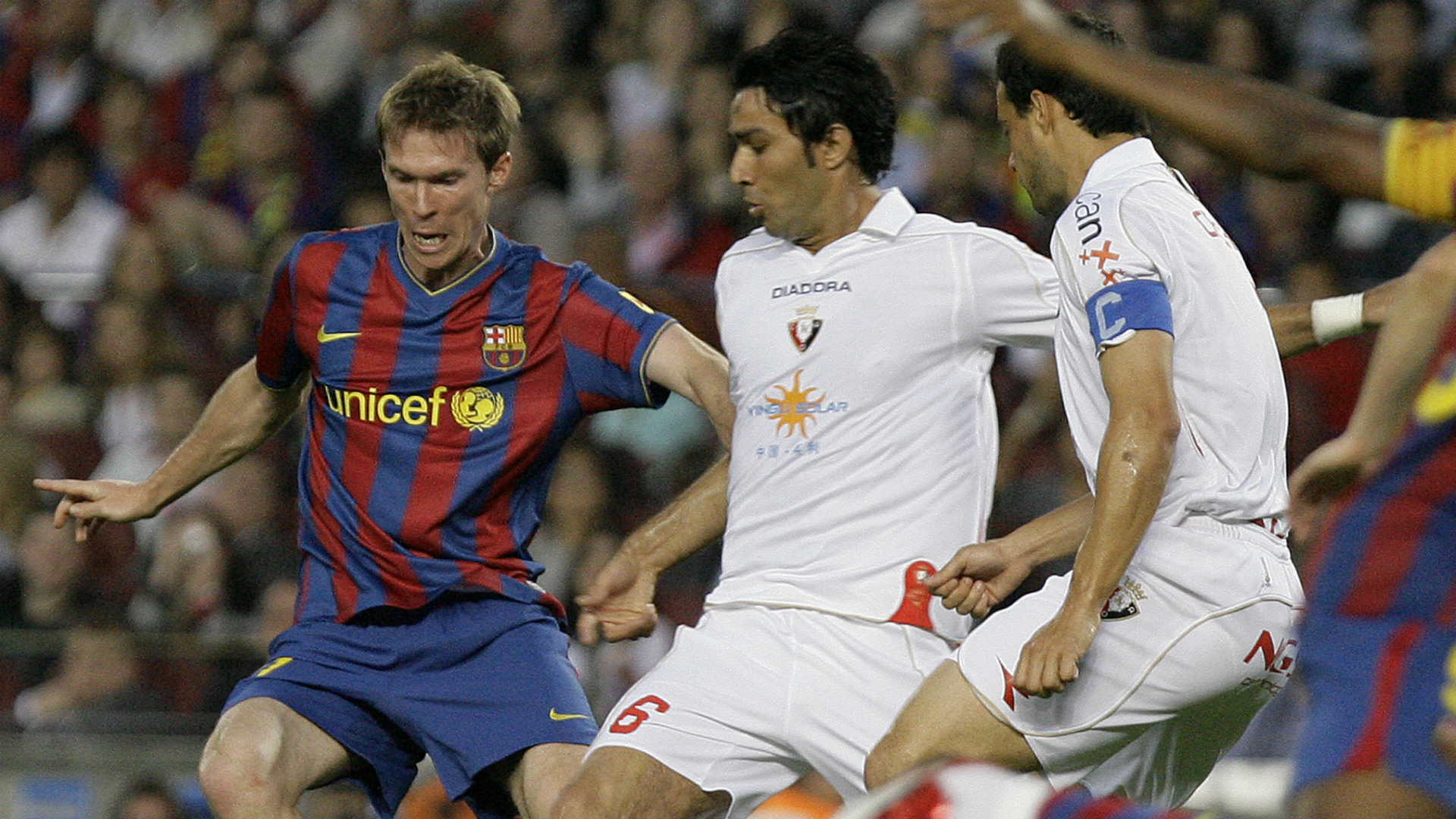 Hleb ex Barcelona player
