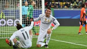 Cristiano Ronaldo Gareth Bale Shakhtar Donetsk Real Madrid Champions League