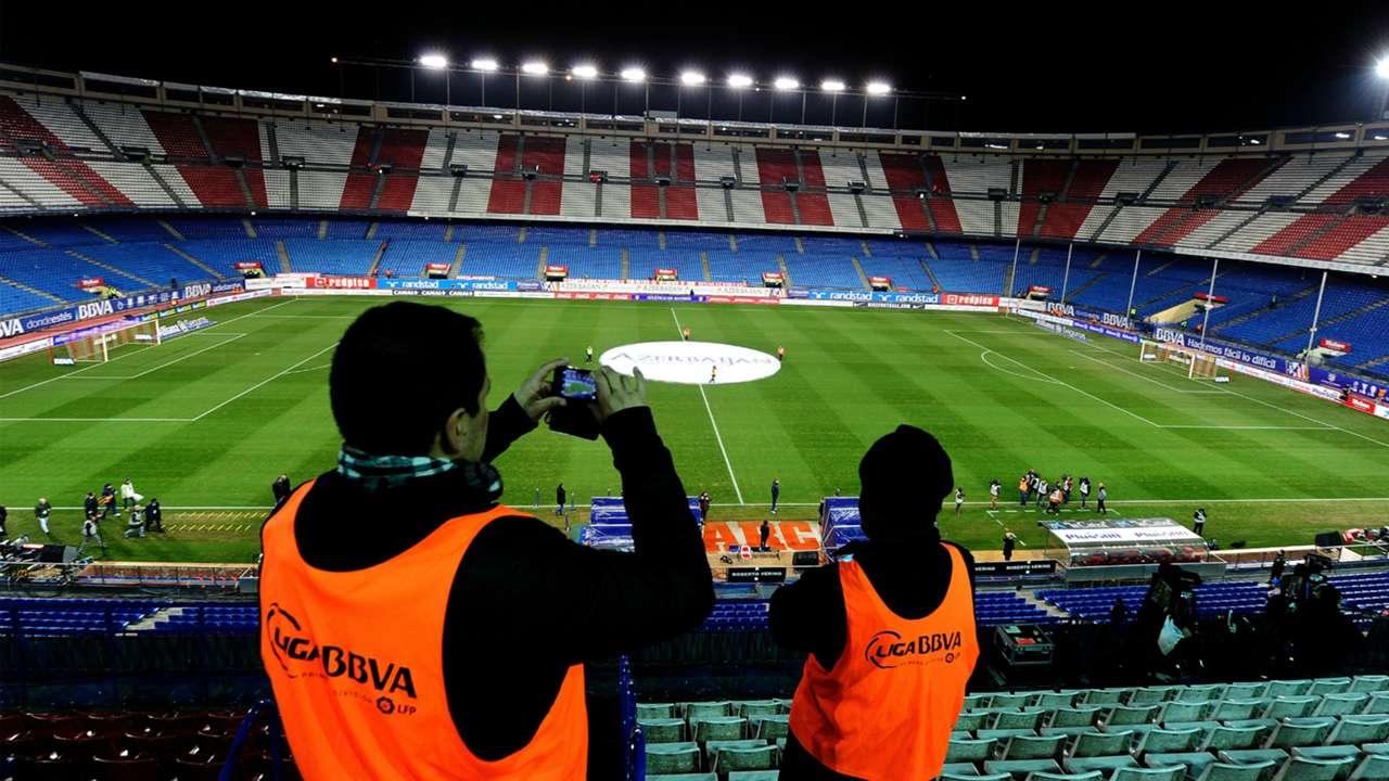 Vicente Calderon Atletico Madrid Real Madrid Copa del Rey 01072014