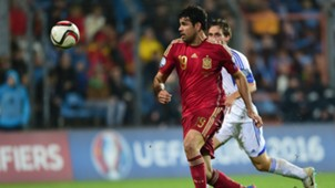 Luxembourg Spain Euro 2016 Diego Costa 121014