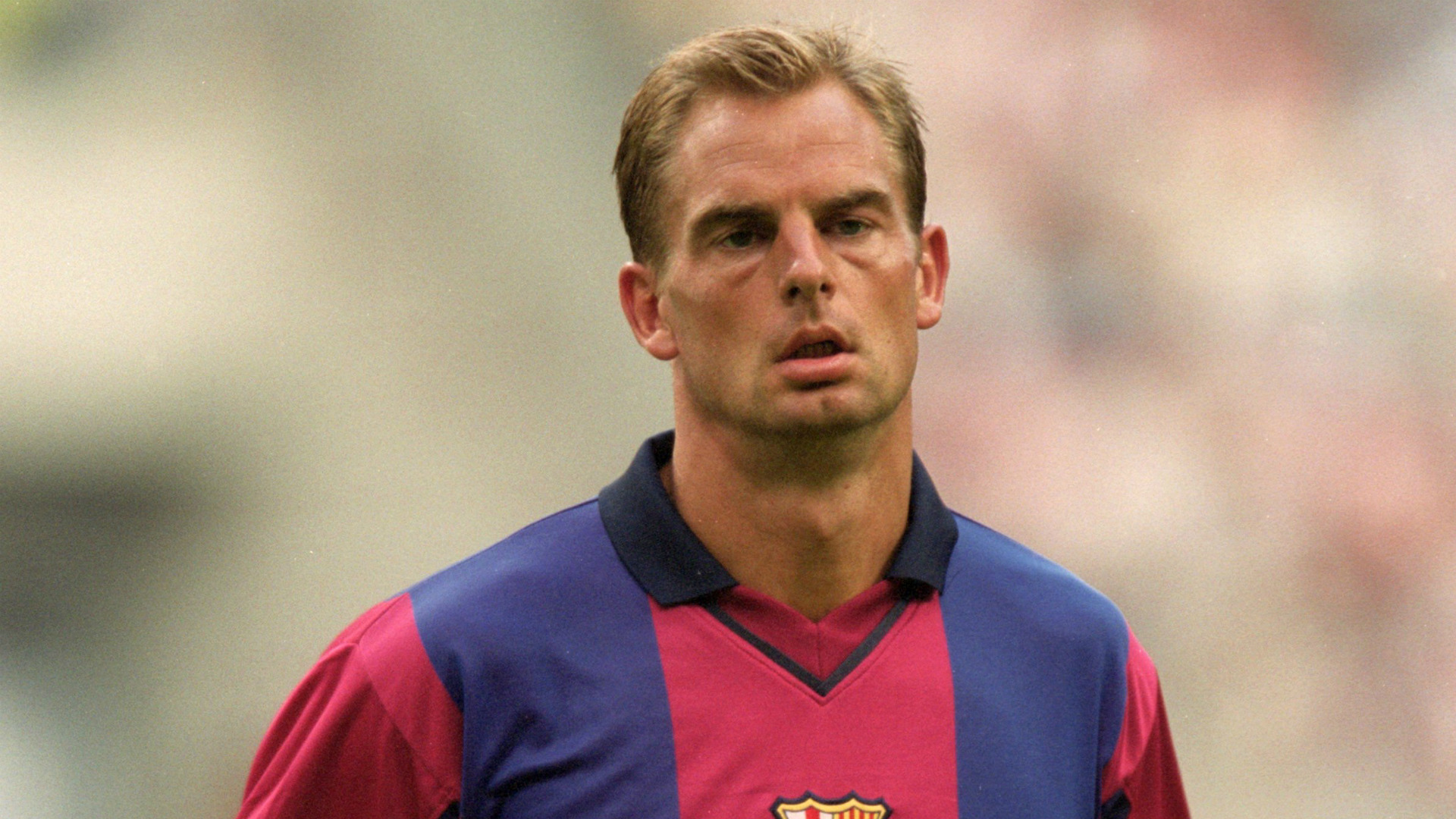 Ronald de Boer ex Barcelona player