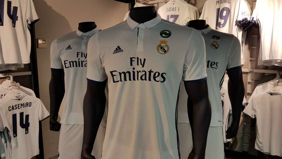 Real Madrid kits 16-17