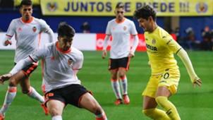 Carlos Soler Pato Villarreal Valencia Liga 21012017