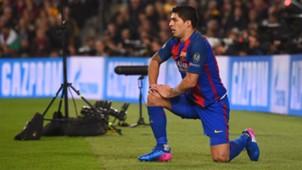 Luis Suarez Barcelona PSG UEFA Champions League 08032016