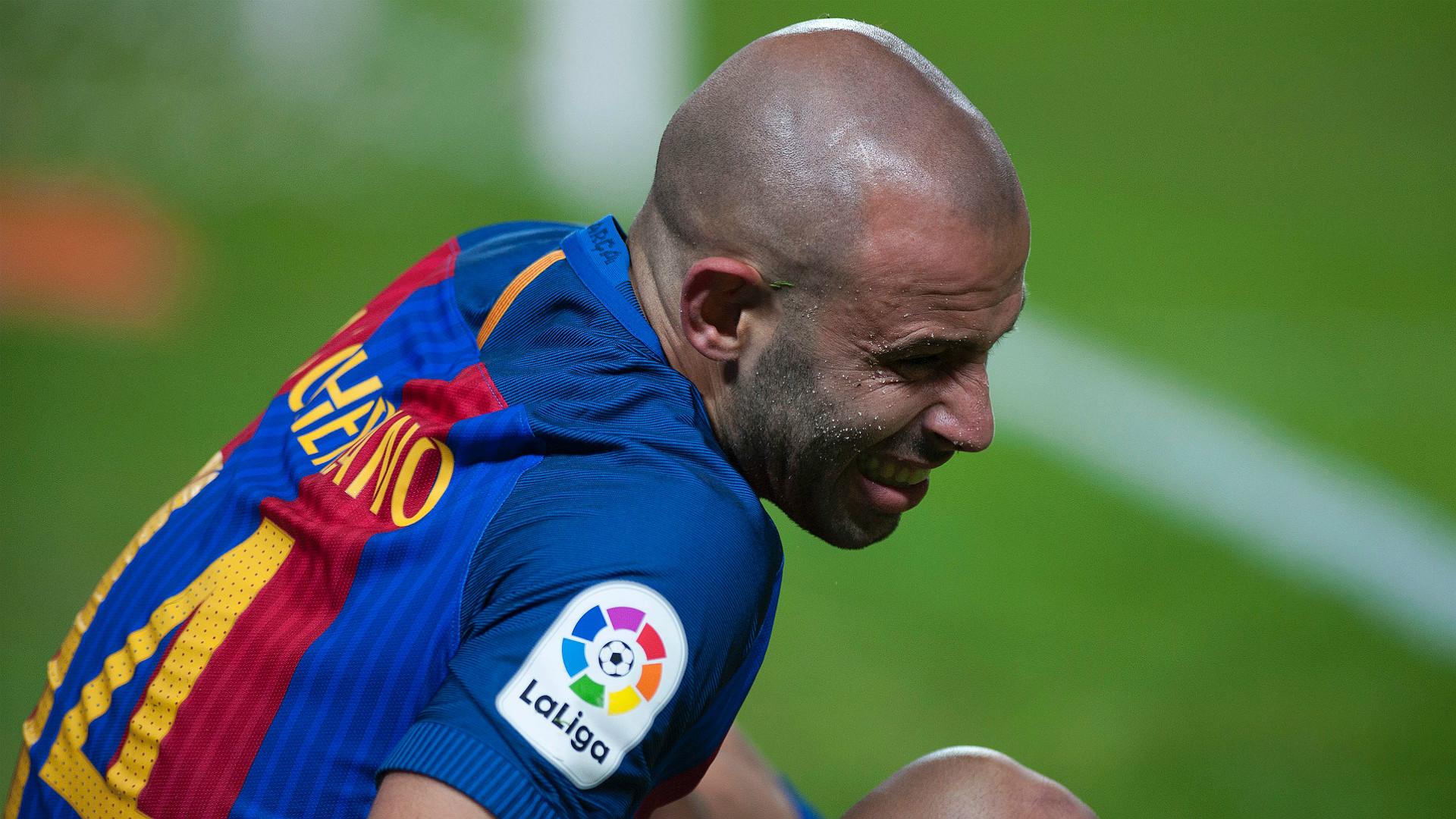 Javier Mascherano Sevilla Barcelona LaLiga 06112016