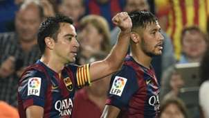 Neymar Xavi Hernandez Barcelona