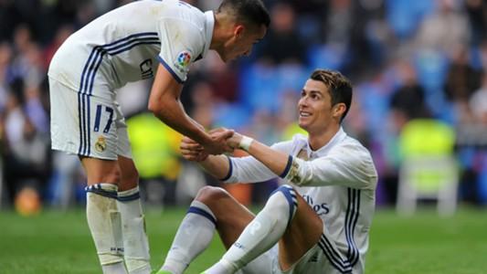 Lucas Vazquez Cristiano Ronaldo Real Madrid Espanyol LaLiga