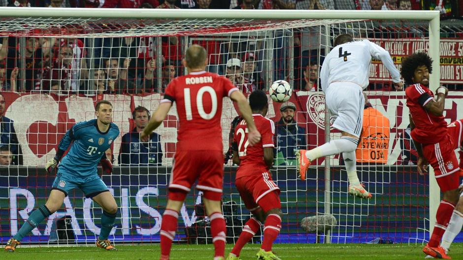Real Madrid Bayern Munchen Champions League 2014 - Goal.com