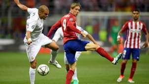 UCL FINAL REAL MADRID ATLETICO PEPE FERNANDO TORRES 28052016