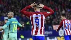 Fernando Torres Atletico Madrid Barcelona Copa del Rey