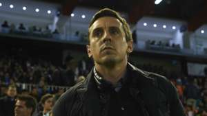 Gary Neville Valencia Barcelona Copa del Rey