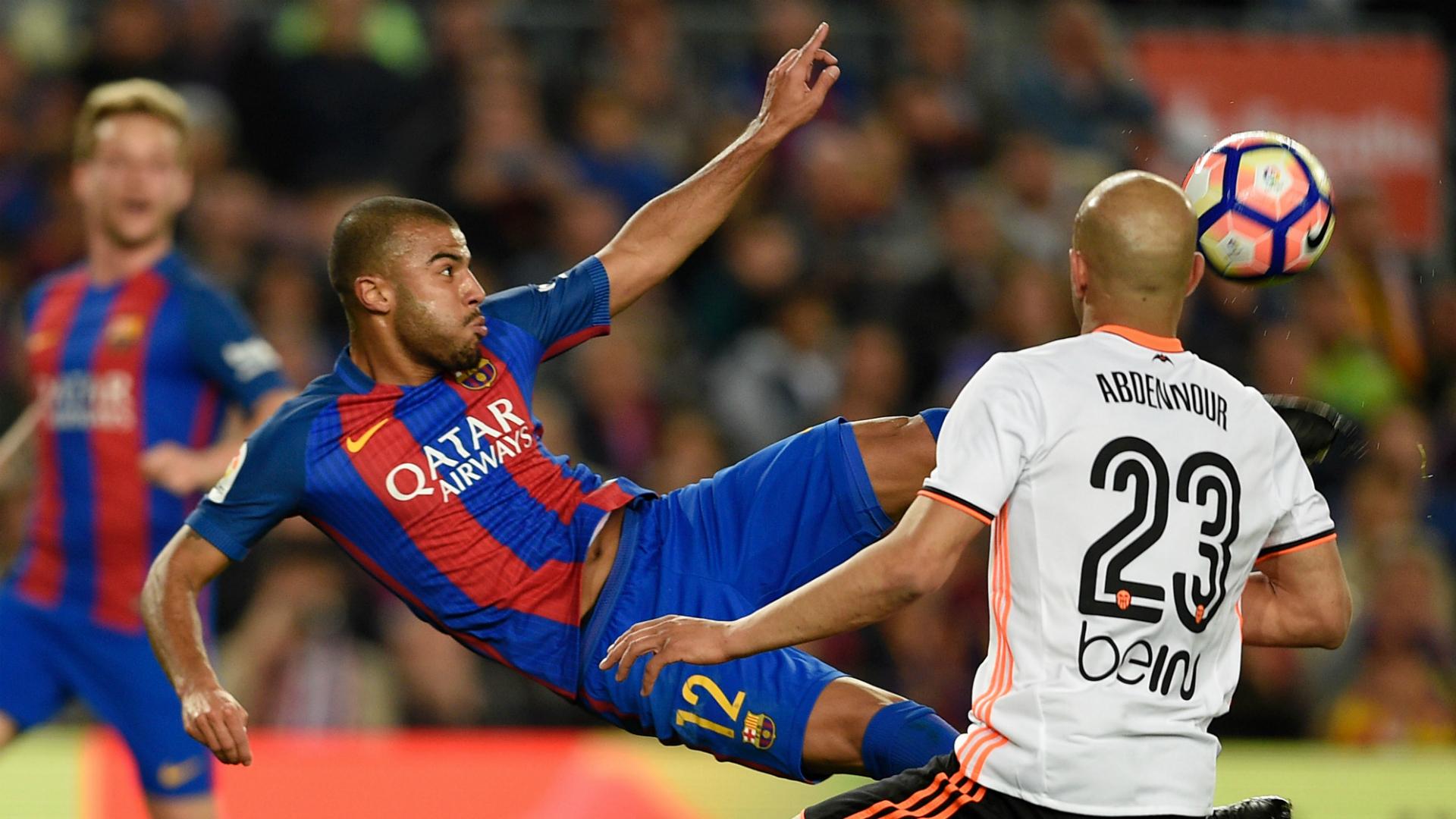 Rafinha Aymen Abdennour Barcelona Valencia La Liga