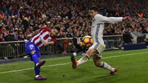 Ferreira Carrasco Mateo Kovacic Atletico Madrid Real Madrid La Liga