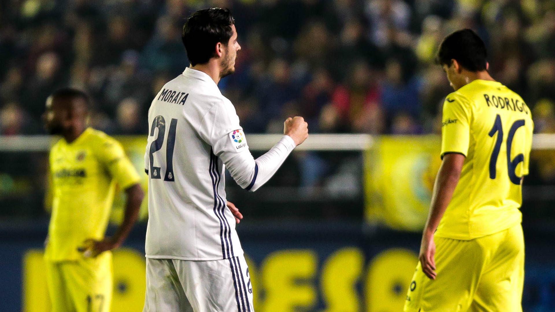 Alvaro Morata Villarreal Real Madrid LaLiga 26022017