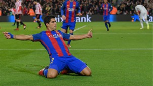 Luis Suarez Barcelona Athletic Bilbao Copa del Rey 1112017