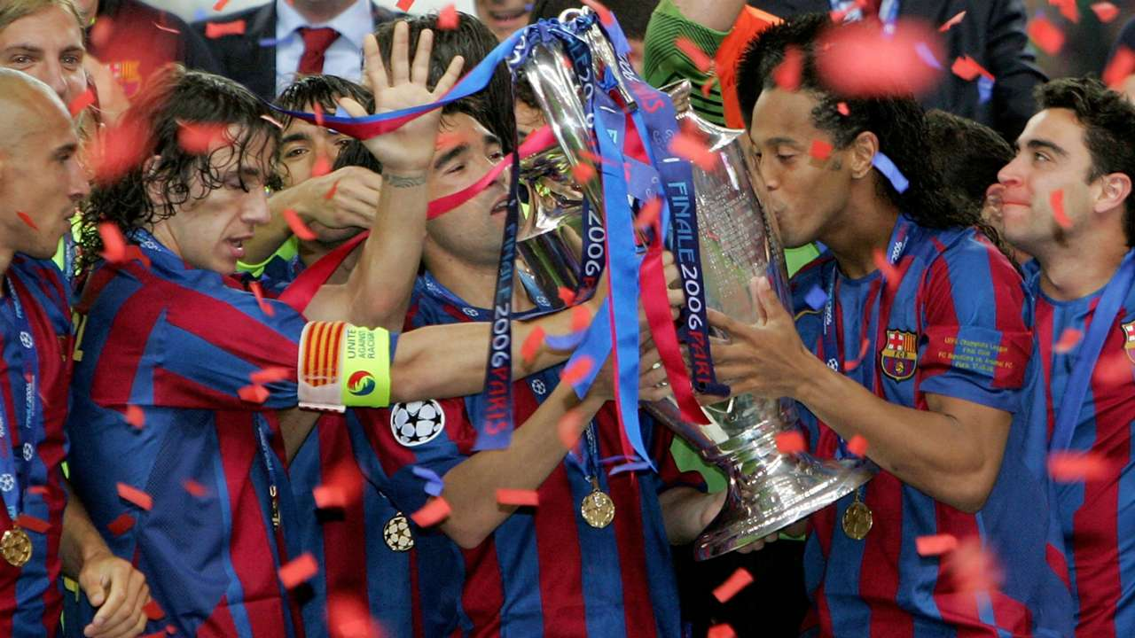 Barcelona Champions League 2006