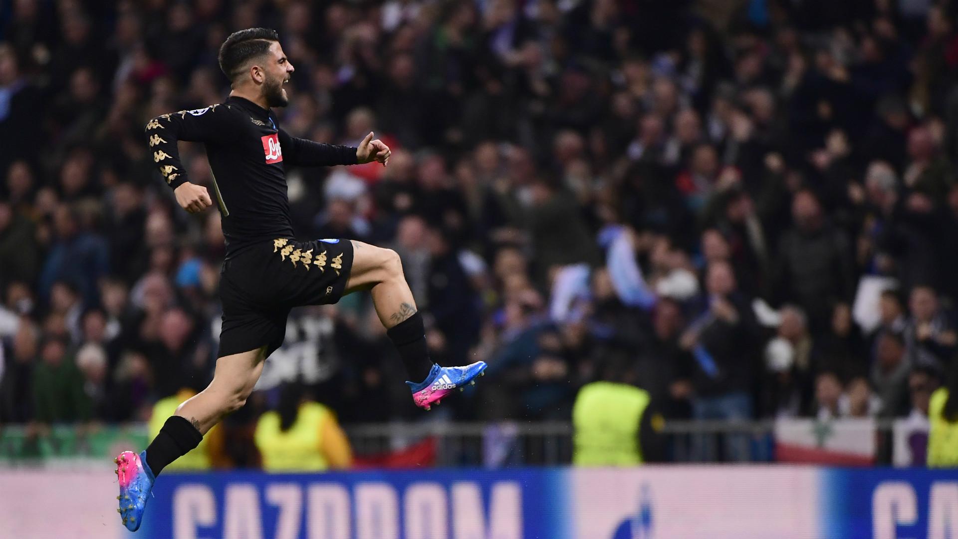 Lorenzo Insigne Real Madrid Napoli Champions League