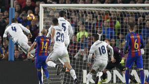 Sergio Ramos goal Barcelona Real Madrid La Liga