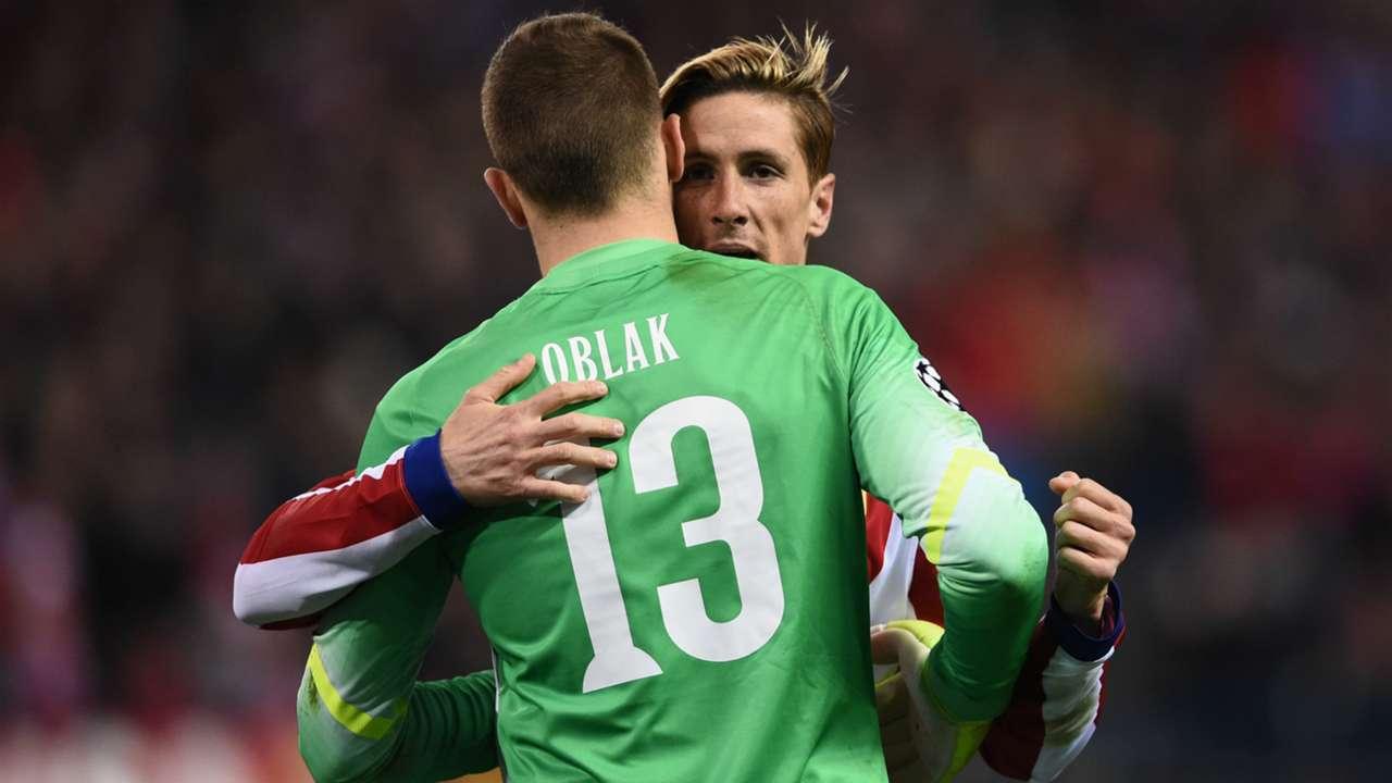 Fernando Torres Jan Oblak Atletico de Madrid Bayer Leverkusen Champions League 03172015