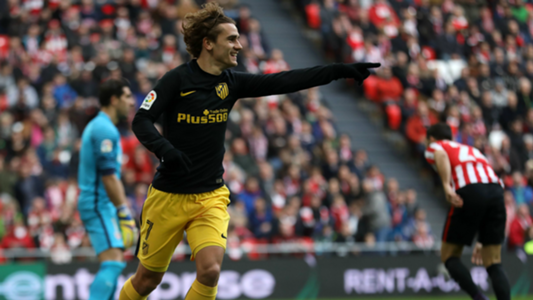 Antoine Griezmann Athletic Club Atletico Madrid La Liga