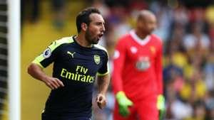 Cazorla Premier League Watford vs Arsenal 280816