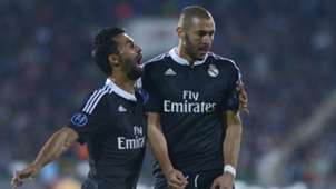Alvaro Arbeloa Karim Benzema Ludogorets Real Madrid Champions League