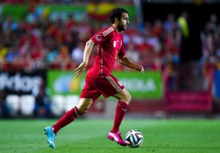 CESC FABREGAS SPAIN 2014 WORLD CUP GROUP B 06132014
