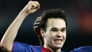 Andres Iniesta Barcelona 2004