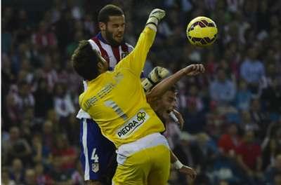 Juan Carlos Atletico Madrid Cordoba La Liga 01112014