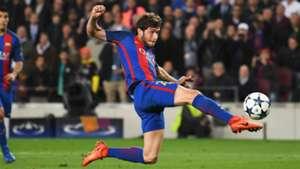 Sergi Roberto Barcelona PSG UEFA Champions League 08032016