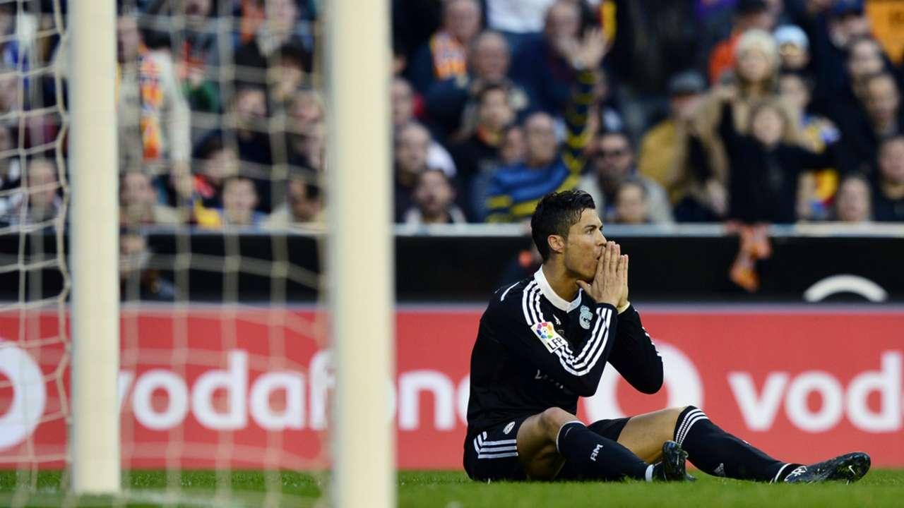 Cristiano Ronaldo Valencia Real Madrid Liga BBVA